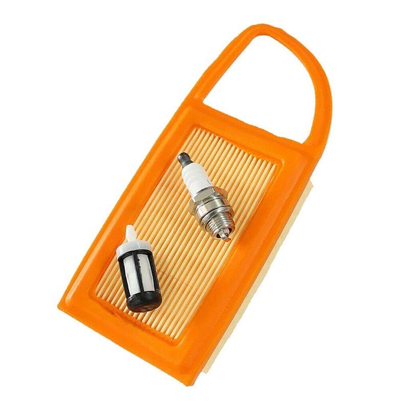 Air Fuel Filter Spark Plug For Stihl BR600 BR550 BR500 Backpack Blower Spare