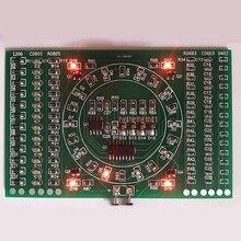 SMD мигающий светодиод Компоненты пайки практика доска умений электронная схема Z17 Прямая поставка