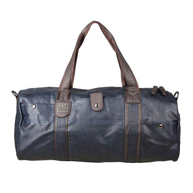 Bagsco Men's High Quality PU Leather Travel Bag