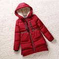 New 2016 Winter Women Wadded Jacket Red Female Outerwear Plus Size 5XL Thickening Casual Down Cotton Wadded Coat Women Parkas