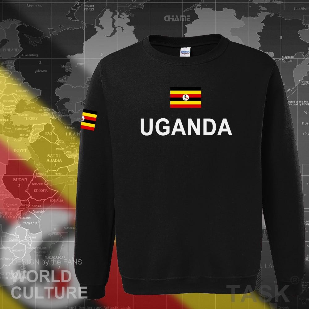 Uganda Ugandan hoodies men sweatshirt sweat new hip hop streetwear tracksuit nation clothing sporting country flag UGA Uganda