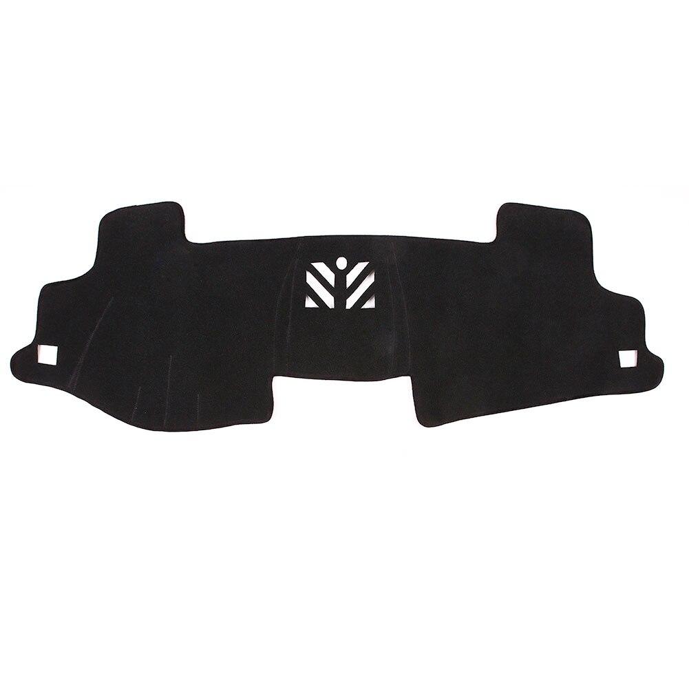 Крышка приборной панели фетр ткань черный Солнцезащитная Накладка для машины Pad оттенки приборной панели коврик автомобильные аксессуары для Toyota Camry 7th 2012-2013