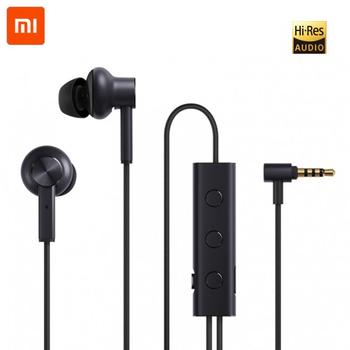Xiaomi ANC Earphone Active Noise Cancelling earpiece 3.5mm jack Interface In-Ear Mic Line Control for Xiaomi A1 Redmi 4X