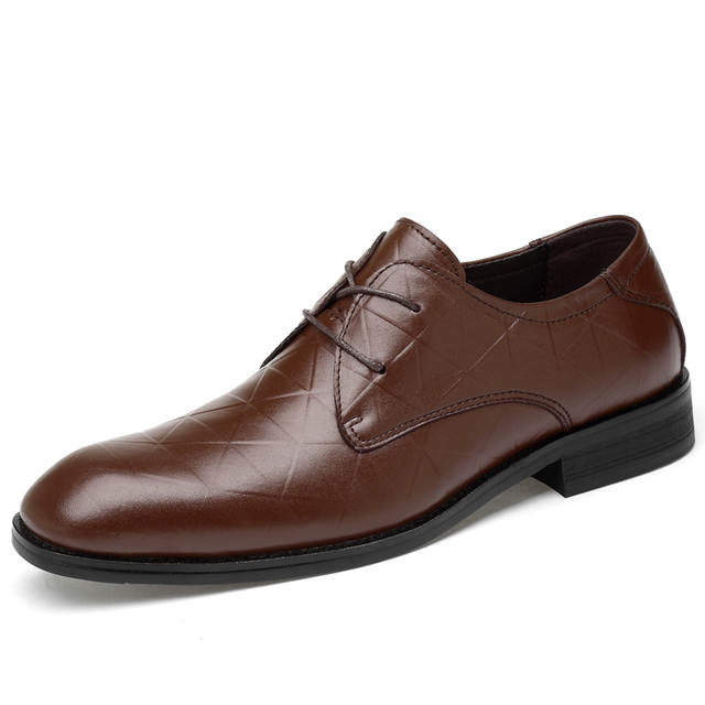 dd06d7ab08 US $52.45 6% OFF|CLAX Mens Oxfords Genuine Leather Dress Shoe Autumn  chaussure homme wedding Shoe Male derbi Leather Shoes luxury Plus Size-in  Formal ...