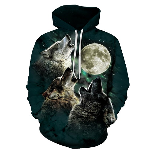 Wolf Pritned Men Women Hoodies 3D Hooded Sweatshirts Autumn Spring Pullover Fashion Tracksuits Animal Brand Quality Outwear Wolf Printed Hoodies HTB1AdJoarsTMeJjy1zeq6AOCVXaD