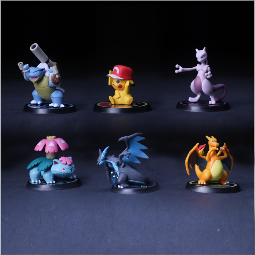 Childrens gift Magic baby pokemon Pikachu hands eight generations of six pokemon characters.