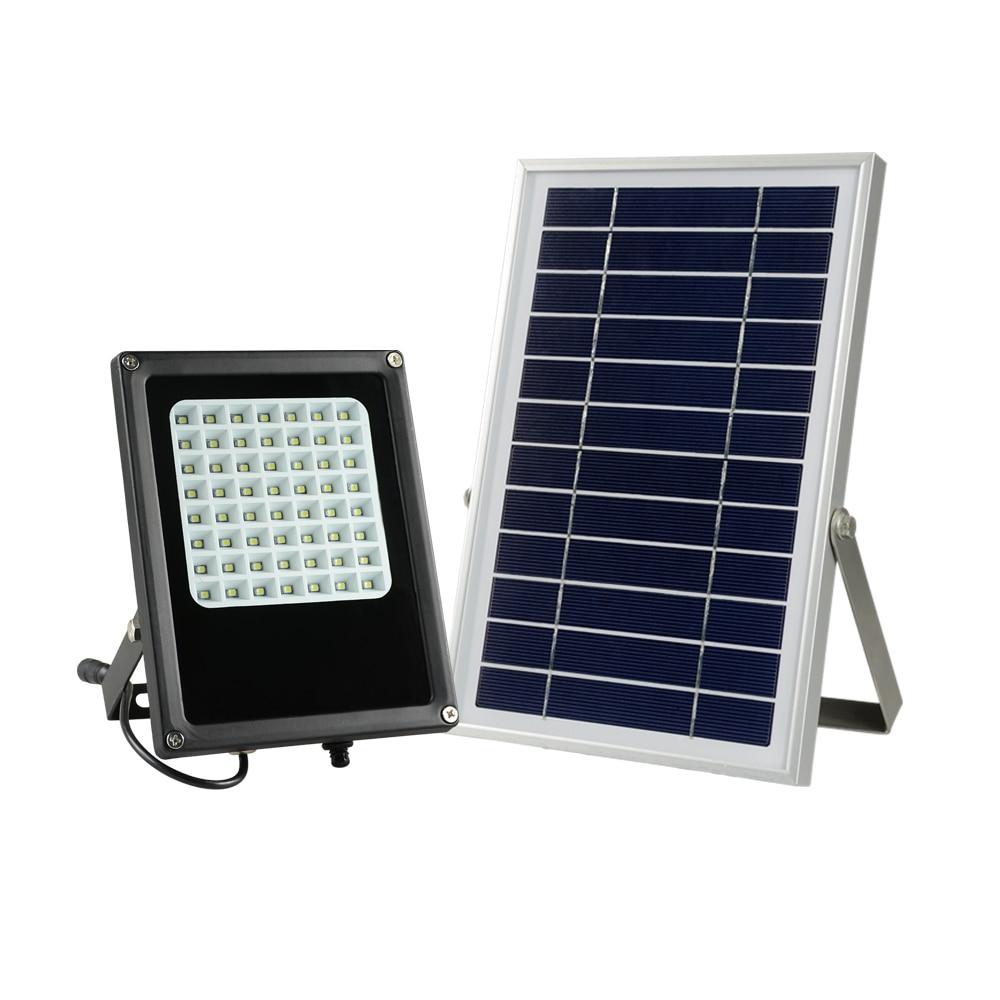 ФОТО Ruocin new release 56 LEDS solar street light waterproof IP 65 with spotlighting casing free shipping