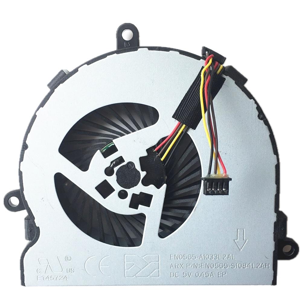 Nouveau ventilateur D'ordinateur Portable Pour HP 15-ba007ds 15-ba009cy 15-ba009ds 15-ba009dx Cpu Cooler Fan