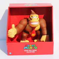 Japan Anime Action Figure Super Mario Donkey Kong PVC Action Figure High Quality Children Model Toy Doll 23cm