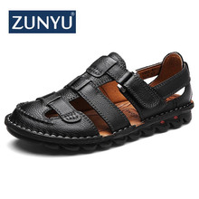 ZUNYU New Summer Comfortable Casual Shoes Loafers Men Shoes Quality Genuine Leather Shoes Men Flats Hot Sale Moccasins Shoes