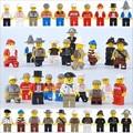 J609 Nueva Llegada 20 unids Bloques de Construcción Ensambladas Juguetes Modelo Humano Figura de Acción de Juguete de Regalo Para Niños