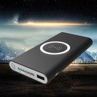 New Arrivals power bank 20000mah External Battery quick charge wireless power bank portable charger for iPhone X 8 7 Samsung