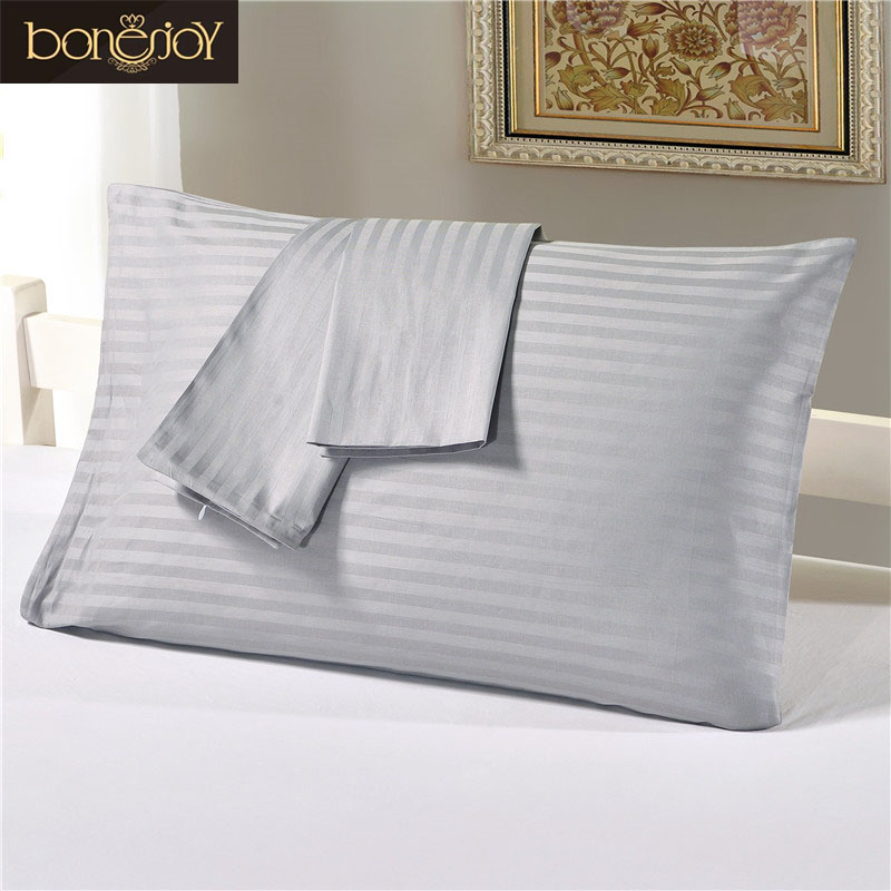 AuBergewohnlich Bonenjoy 100% Reiner Baumwolle Kissenbezug Grau Farbe Plaid Gedruckt .