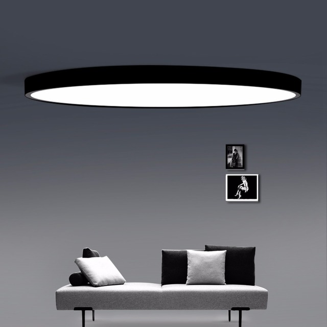 LED Ceiling Descend Modern Panel Lamp Lighting Device Living Room Bedroom Caboose Surface Mount Flush Unlikely Control.
