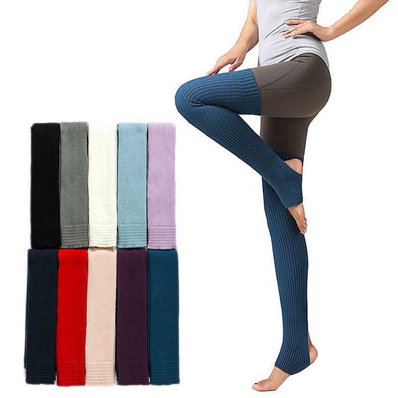 One Pair Women Over the Knee Stockings Autumn Winter Leg Warmer For Ballet Pilates Fitness Leggings Ballet Stockings Drop Ship