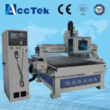 1500x3000mm jinan accTek atc cnc router prices,atc wood carving cnc router,atc cnc router for woodworking