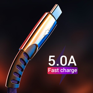 Image 2 - Fast Charging USB Type C Cable for USB C Mobile Phone Cable Type C Cable for USB Type C Devices For Nylon Braided  Cord Popular