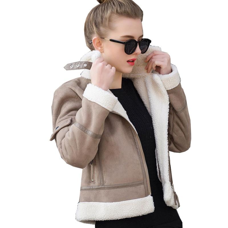 Popular Leather Sheepskin Coat-Buy Cheap Leather Sheepskin Coat ...