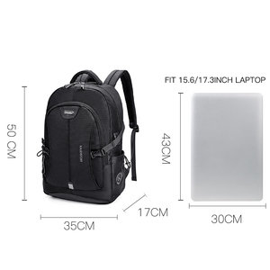 Image 5 - KALIDI Men Backpacks School 15 17 Inch Laptop Backpacks Travel Bags Multifunction Notebook Backpack 15.6 Bagpack USB Charging
