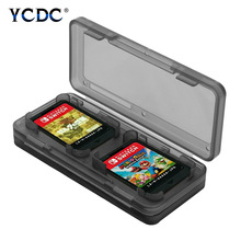 Portable 4-in-1 Game Card Case Holder Organizer Dustproof For Nintendo Switch Storage Box Protector Waterproof Anti-shock