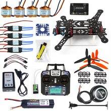 Ensemble complet Drone Quadrocopter 4-essieu Avions Kit 300 H 300mm Cadre 6 M GPS APM 2.8 Vol Contrôle Émetteur F11859-F