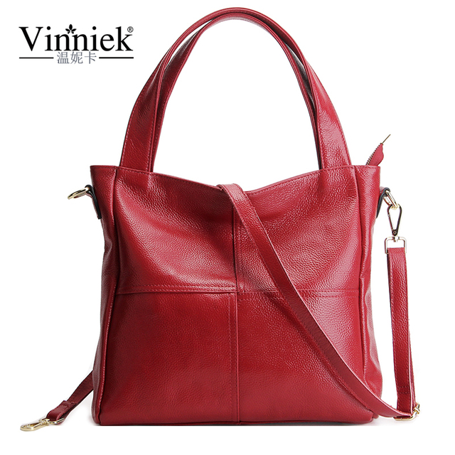 Very Large Women Bag Genuine Leather Bags For Luxury Handbags Fashion Shoulder Zipper Casual