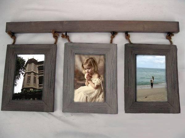 Free Shipping Photo Frame European Style Handwork Wooden Nostalgia ...