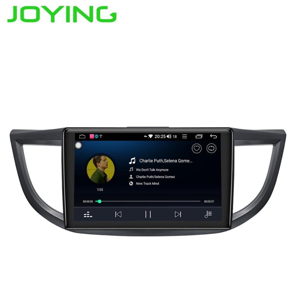 Lecteur radio cassette JOYING 4 GB Android 8.1 autoradio octa Core 10.1 autoradio pour Honda CRV 2012-2016 DSP démarrage rapide HD audio