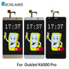 Original LCD Screen For Oukitel K6000 Pro LCD Display Touch Screen Digitizer Assembly Mobile Phone LCDS