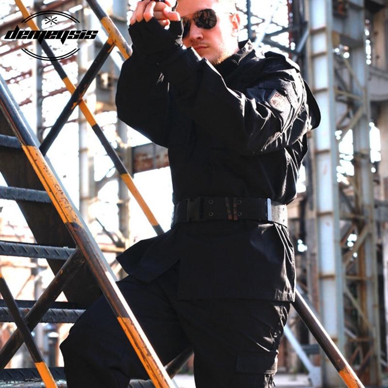 Military Men CS Paintball Suit Army Combat BDU Military Hunt Suit Wargame COAT + PANTS Set Tactical