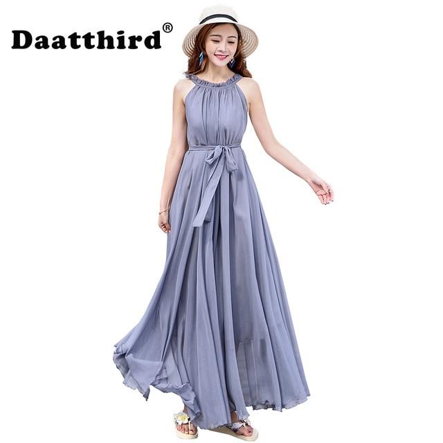 2018 Women\'s Chiffon Lightweight Bridesmaid Maxi Dress plus size ...