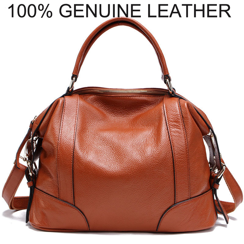 100% GENUINE LEATHER BAGS Women Designer Brand Handbags - Classic High Quality Shoulder Messenger Bags 7 Colors
