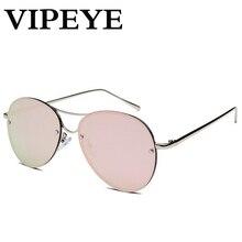 Nueva Tendencia Oval Diseño Nariz Ladies Gafas de Sol de gafas de Sol de Las Mujeres 2017 Personalizada Cómodo Vintage Eyewear Gafas De Sol Mujer