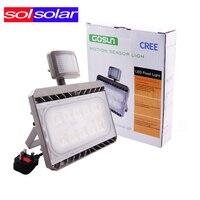 Cree LED PIR Đèn Pha Motion Sensor Lũ Ánh Sáng 30 Wát 50 Wát AC 100-240 V Ngoài Trời Không Thấm Nước IP65 Đèn Spotlight seaching ánh sáng