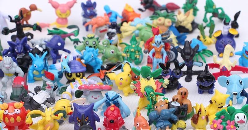 24pcs Mini Pokemon Figures 8