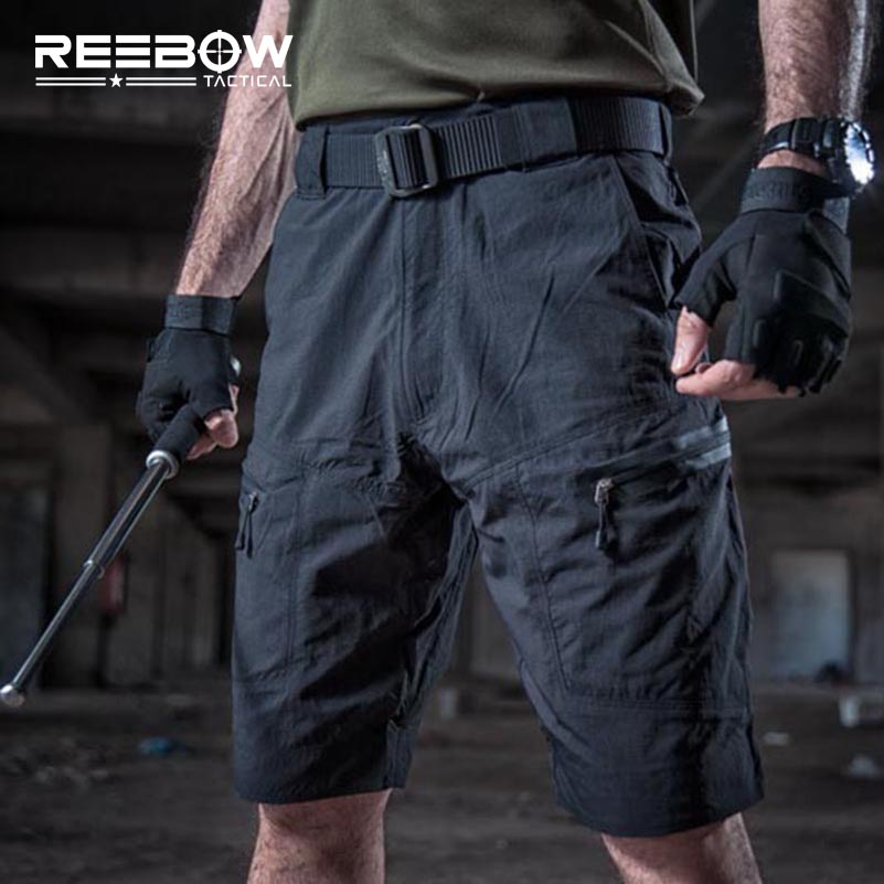Tactical Men Military Shorts Summer Knee Length Outdoor SWAT Shorts Breathable Quick-drying Urban Combat Airsoft BB Ball 2018 men multi pocket military cargo shorts casual cotton loose knee length army tactical shorts homme summer male sweatpants