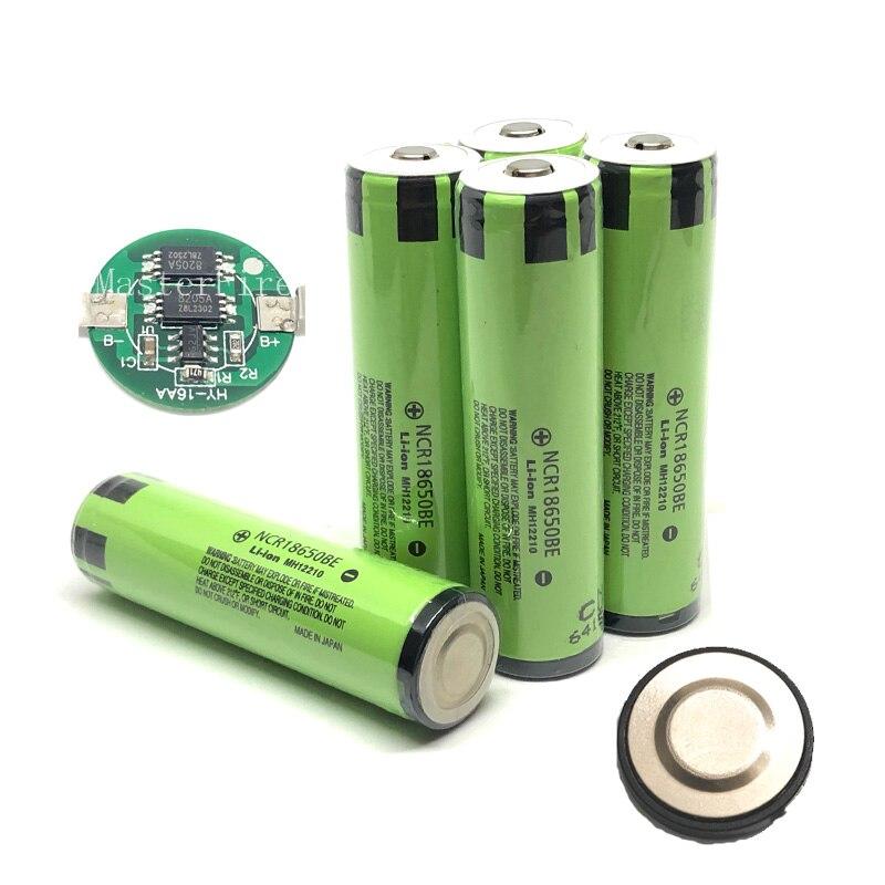 2 pcs/lot Nouveau Original Pour Panasonic Protégé 18650 NCR18650BE 3200 mah 3.7 v Li-ion Rechargeable batterie Pour l'e-cig avec PCB