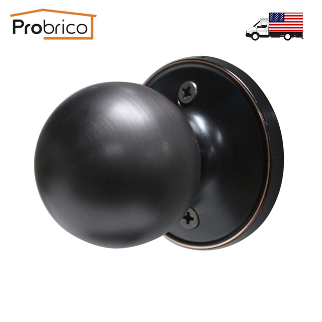 Probrico Antique Stainless Steel Half Dummy Interior Door Knob Round