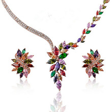 Collares Maxi Necklace 2017 New Arrival More Color Luxury Choice Statement Chain Pendant Necklace For Women Jewelry Wedding
