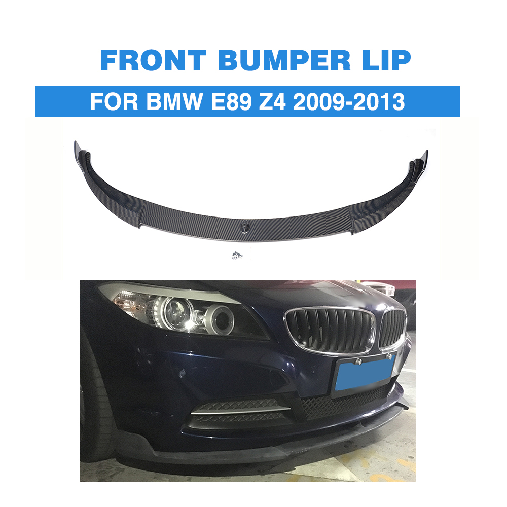 Carbon Fiber Front Bumper Lip Spoiler Chin For BMW E89 Z4 2009-2013 Not IS Car Tuning Parts