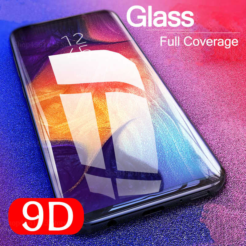 9D Samsun A50 Glass For Samsung Galaxy A70 A40 A30 A50  Screen Protector On The Galax A 50 30 40 70 50A 30A 70A Protective Glass