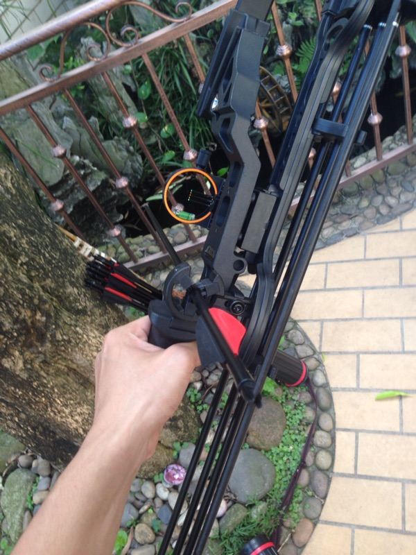 Image 3 - Crossbow Hunting Compound Bow 5 pin Bow Sight Led light Bow Sights For recurve bow Hunting Bow Sights Archery Accessories-in Bow & Arrow from Sports & Entertainment