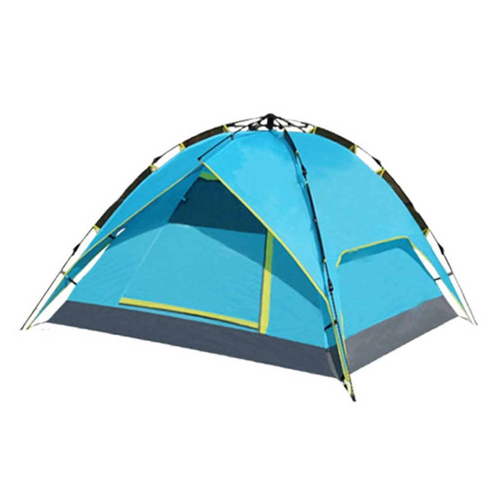 3 4 Person Portable Outdoor Waterproof Folding Tent