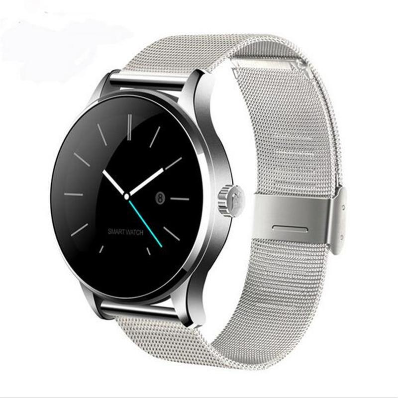 Original K88H Bluetooth Smart Watch Health Metal Smartwatch Heart Rate Monitor for apple iphone huawei xiaomi