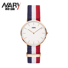 12 Color Nylon Strap Brand Womens Watches Luxury Watch Fashion Casual Watch Quartz Watch Female Clock Relojes Mujer Montre Femme