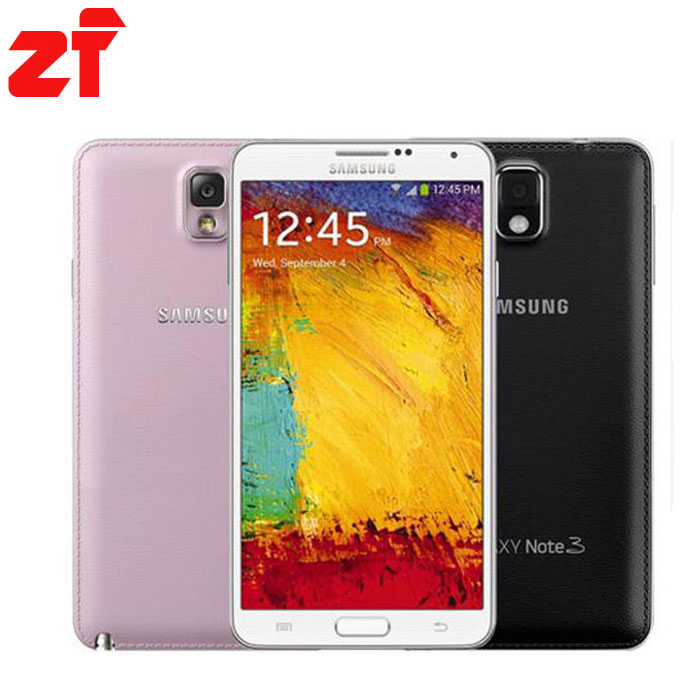 Original Samsung Galaxy Note 3 N9005 3G RAM 32G ROM 5 7 Android Mobile Phone Quad