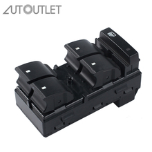 AUTOUTLET Window Master Controller Switch Electric Power Button For Chevrolet GMC Buick Enclave