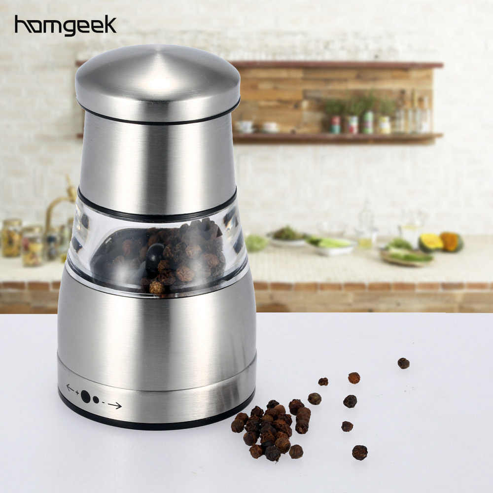 Pepper Grinder Stainless Steel Pepper Mill Portable Manual Pepper Grinder Muller Mill Kitchen Seasoning Grinding cooking tools
