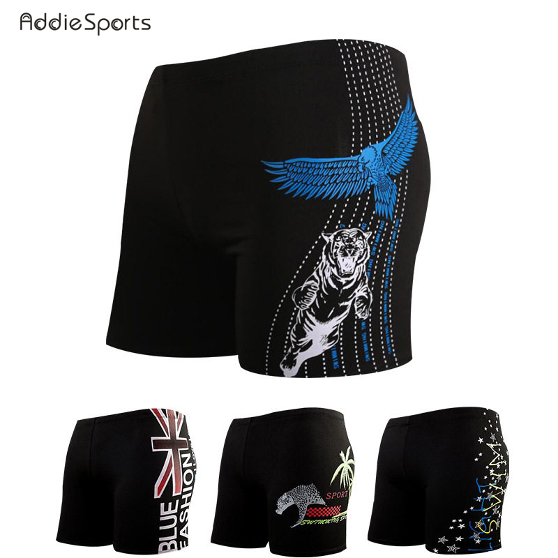 Summer Mens swimming trunks New arrival Beach swimming shorts High waist Conservative Obesity Animal printing shorts A18136
