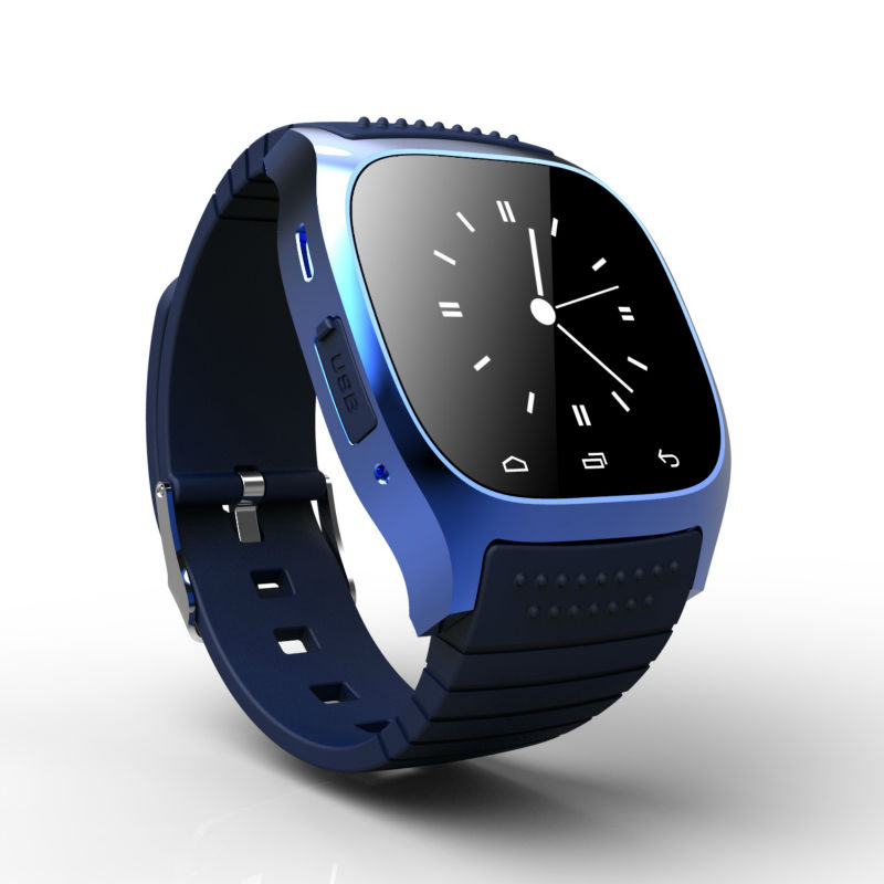 M26 Smart Wrist Watch Sport Tracker Bluetooth font b Smartwatch b font for Android and IOS